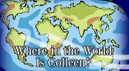 Where in the world is Colleen